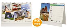 Kalendář 2021 Tipy na výlety 22 x 18 cm