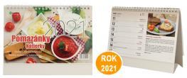 Kalendář 2021 Pomazánky 22 x 17 cm
