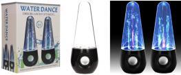 USB tančící vodní LED reproduktory 6W