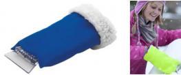 Škrabka na led s rukavicí