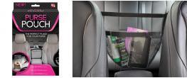 Síťový organizér do auta mezi sedačky