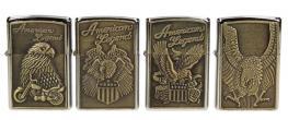 Zapalovače 4 ks - Americano Legend Orel