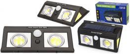 LED solární světlo s pohybovým čidlem CL-5066A