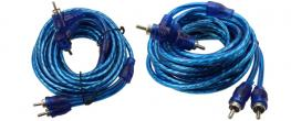 RCA video audio kabel Modrý 5m
