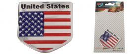 Kovová samolepka United States 5 x 5 cm