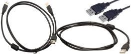 USB kabel 28AWG+24AWG (samec-samec)