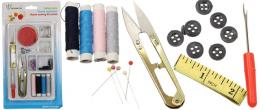 Odstřihovací nůžky se šitíčkem