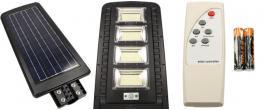 LED solární venkovní světlo 180W na dálkové ovládání