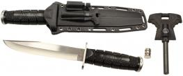 Nůž na přežití s baterkou a křesadlem Cold Steel
