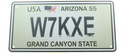Cedule značka USA 30x15,5 cm GRAND CANYON STATE