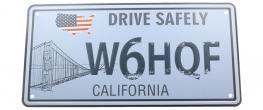 Cedule značka USA 30x15,5 cm CALIFORNIA