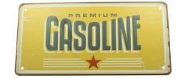 Cedule značka USA 30x15,5 cm PREMIUM GASOLINE