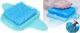 Čistící a masážní podložka na nohy Foot Brush