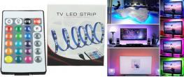 LED RGB pásek za TV 2m YX-3865