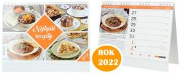 Kalendář 2022 Nejlepší recepty 22 x 18 cm
