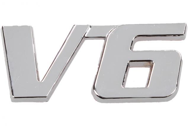 Foto 3 - Kovová samolepka V6 2,5cm x 5,5cm