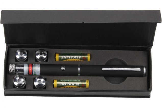 Foto 4 - Ukazovátko zelený laser 5v1