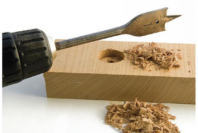 Foto 6 - Vrtáky do dřeva kopinaté, sada 6 ks model LO1B39