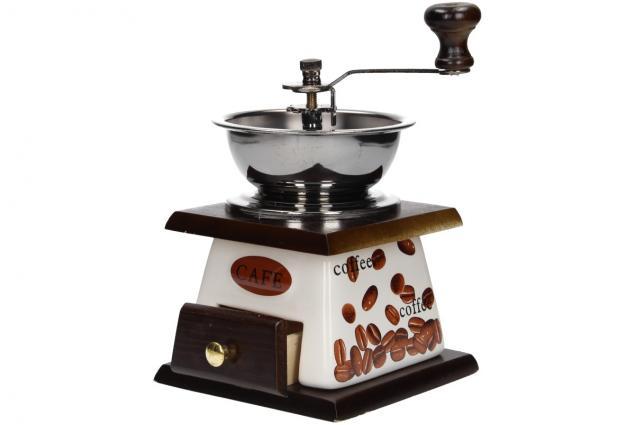 Foto 2 - Ruční mlýnek na kávu keramický