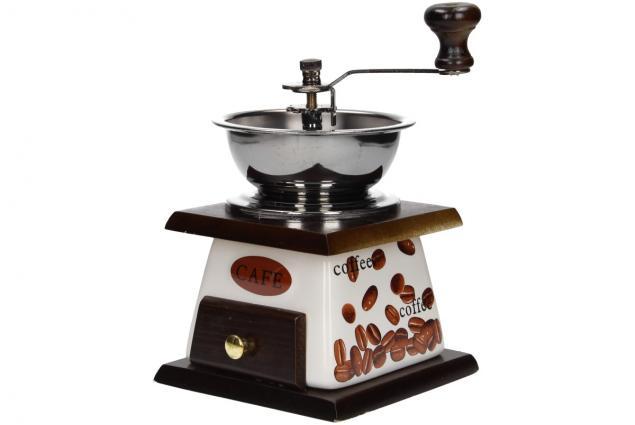 Foto 4 - Ruční mlýnek na kávu keramický