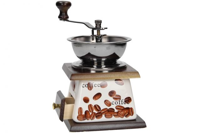 Foto 5 - Ruční mlýnek na kávu keramický