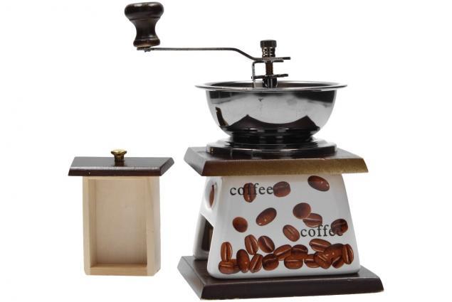 Foto 7 - Ruční mlýnek na kávu keramický