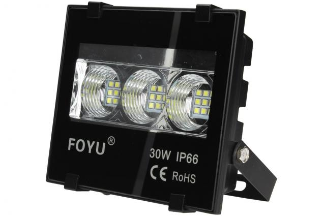 Foto 4 - LED super výkonný reflektor FOYU 30W plochý