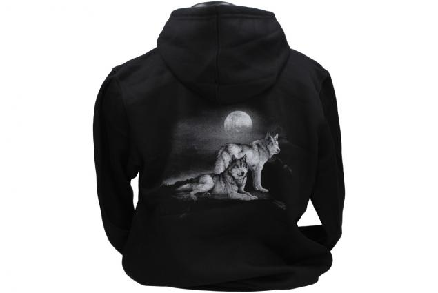 Foto 3 - Mikina s kapucí Vlci za úplňku