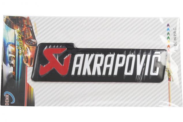 Foto 4 - Kovová samolepka AKRAPOVIČ