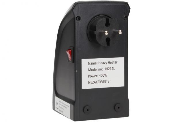 Foto 8 - Teplovzdušný MINI ventilátor Heavy Heater