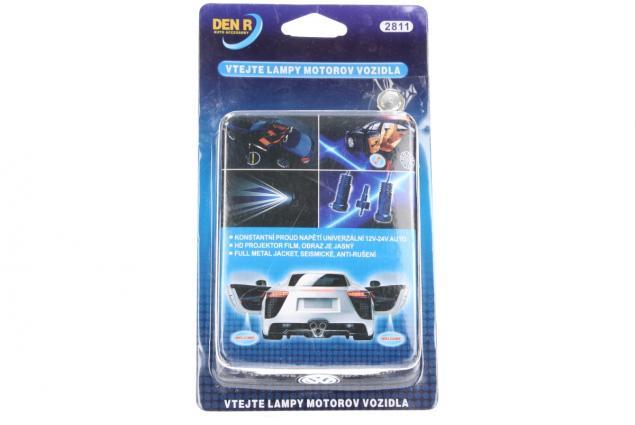 Foto 9 - Svítící LED logo projektor značky automobilu 2ks