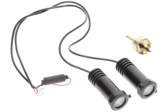 Foto 7 - Svítící LED logo projektor značky automobilu 2ks