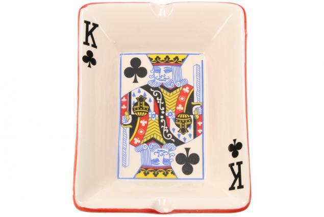 Foto 3 - Keramický popelník pro hráče pokru KRÁL