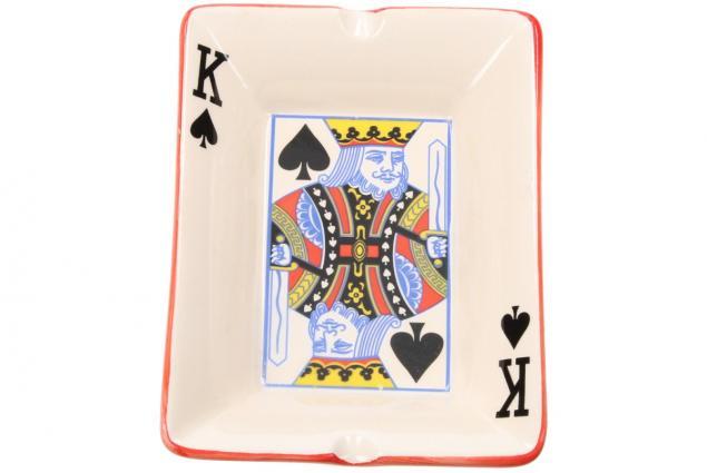Foto 4 - Keramický popelník pro hráče pokru KRÁL
