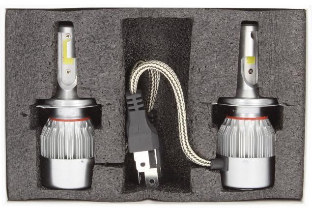 Foto 4 - H4 žárovka LED C6 6000K sada 2 kusy