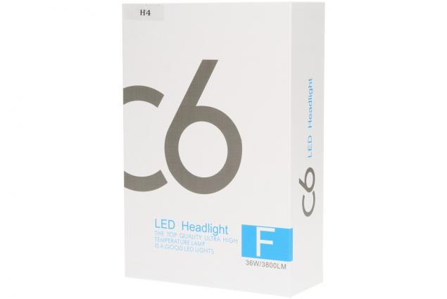 Foto 9 - H4 žárovka LED C6 6000K sada 2 kusy