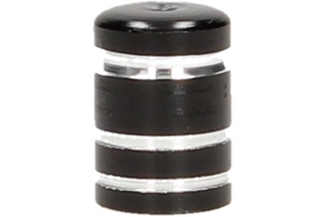 Foto 5 - Ozdobné čepičky na ventilky sada 4 ks černé
