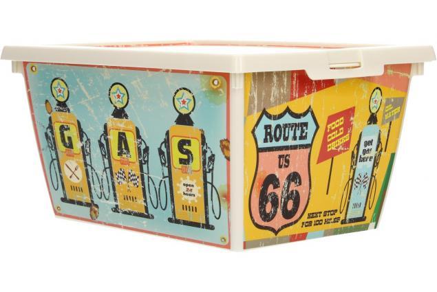 Foto 9 - Box s víkem RETRO malý