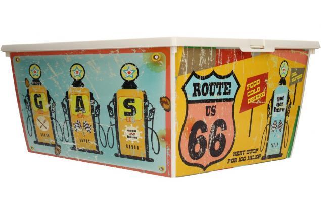Foto 4 - Box s víkem RETRO velký