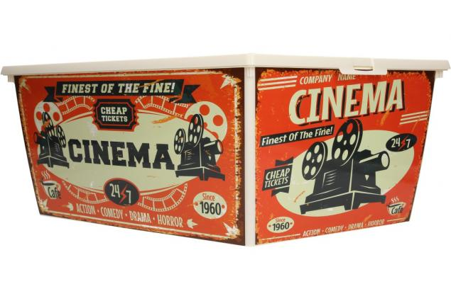 Foto 7 - Box s víkem RETRO velký