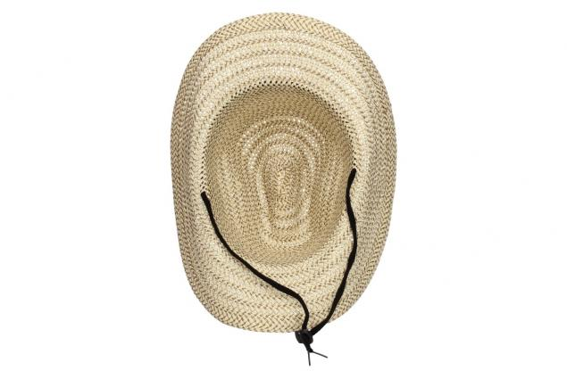 Foto 5 - Slaměný kovbojský klobouk velký světlý