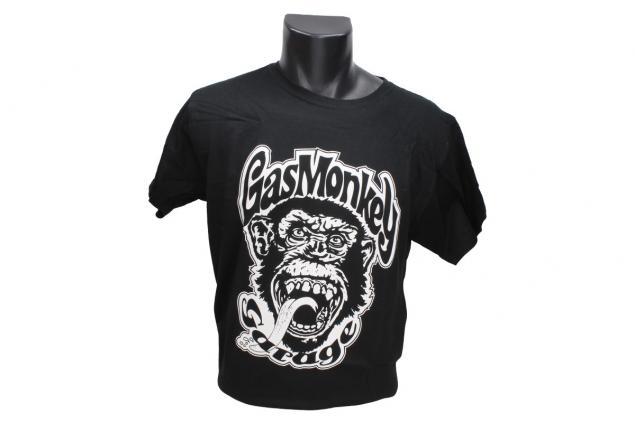 Foto 2 - Tričko Gas Monkey Garage černé