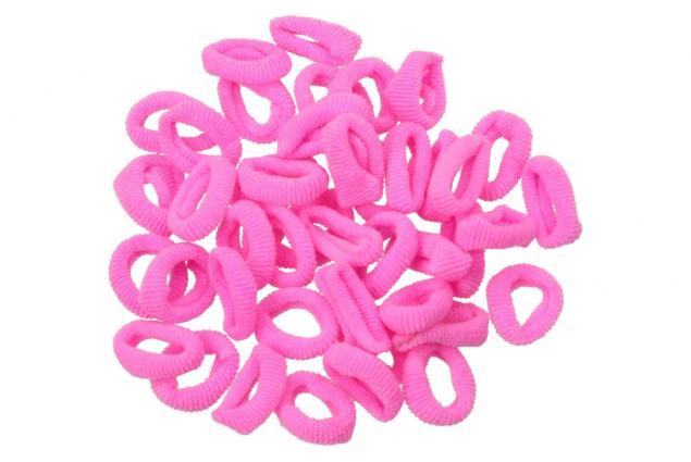 Foto 4 - Barevné gumičky do vlasů 200 kusů