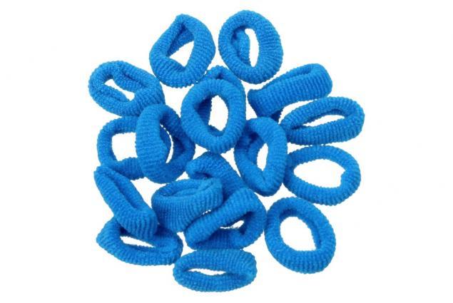 Foto 7 - Barevné gumičky do vlasů 200 kusů