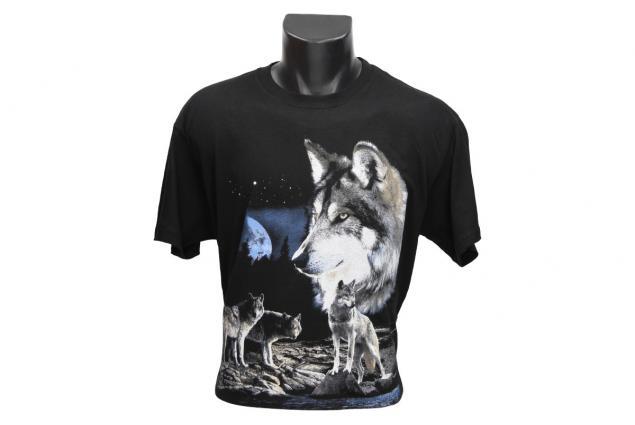 Foto 2 - Tričko s vlky při úplňku