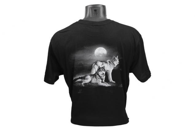 Foto 3 - Tričko s vlky při úplňku