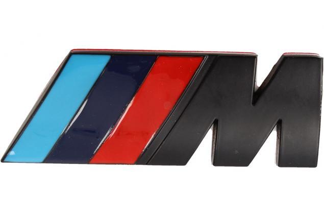 Foto 2 - Kovová samolepka M černé 3cm x 8cm