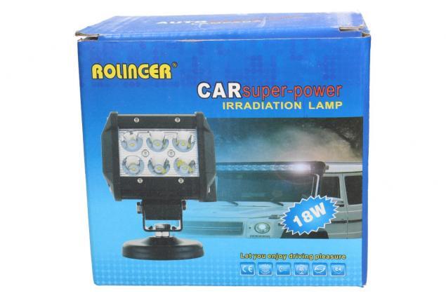 Foto 4 - Doplňková lampa na auto 18W