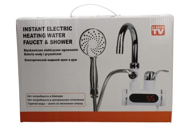 Foto 4 - Průtoková vodovodní baterie nástěnná se sprchou