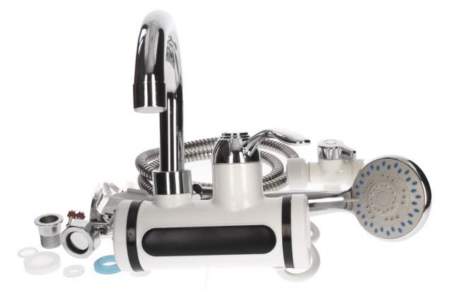 Foto 3 - Průtoková vodovodní baterie nástěnná se sprchou